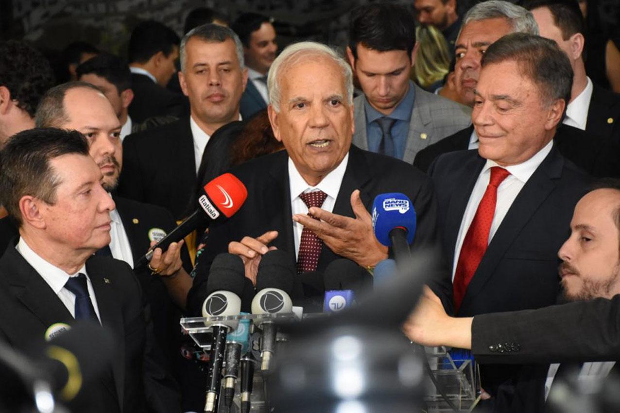 Foto Lançamento Frente Parlamentar